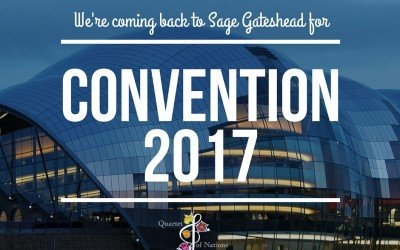 Venue for 2017 convention confirmed