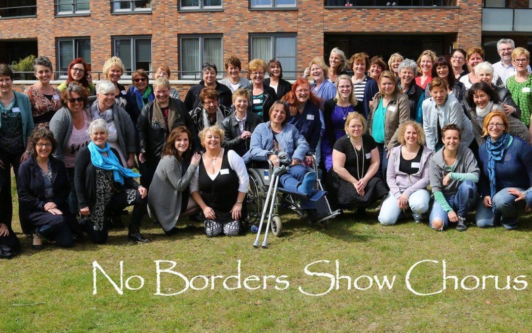 Newly chartered: No Borders Show Chorus