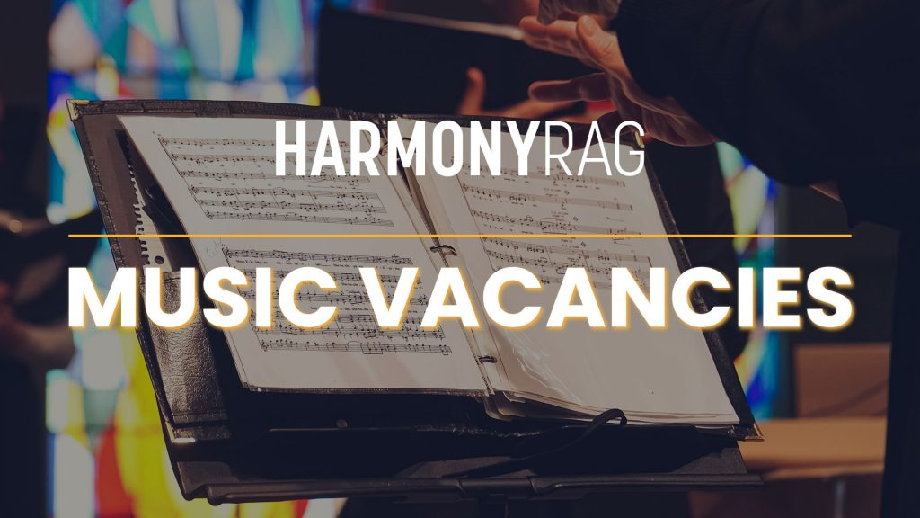 Music Vacancies | Harmony Rag