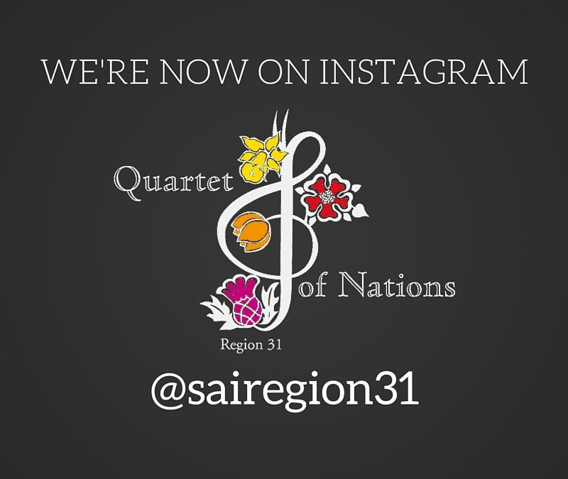 We're on Instagram!