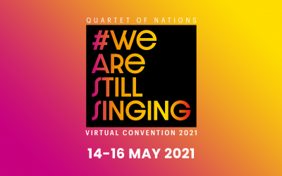 Quartet of Nations wraps up another virtual convention #wearestillsinging